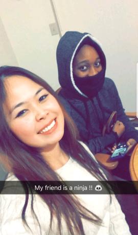 friend is a ninja